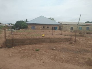 Registered Land for sale at Amasaman with footings