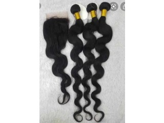 Mongolian hair, Brazilian hair Available