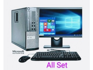 Set of Core i5 Computer Dell